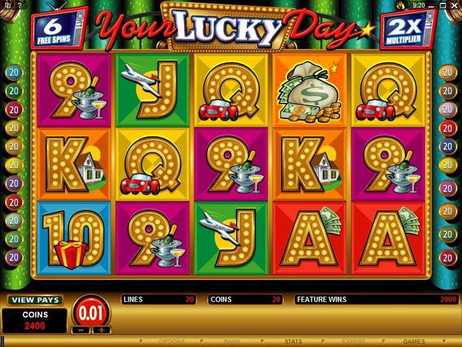 Your Lucky Day Free Spins Screenshot
