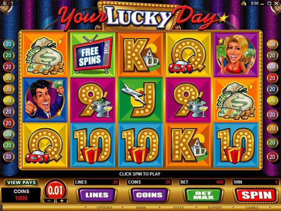 Your lucky Day Slots Screenshot