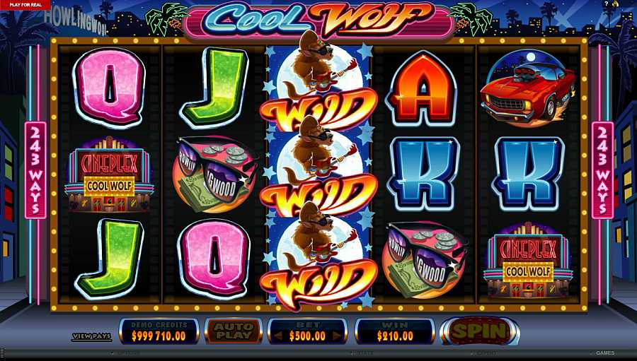 Cool Wolf Slot - Play this Free Microgaming Game Online