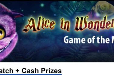 Slotland Match Bonus Alice in Wonderland