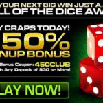 Club Player Craps Deposit Code 450CLUB
