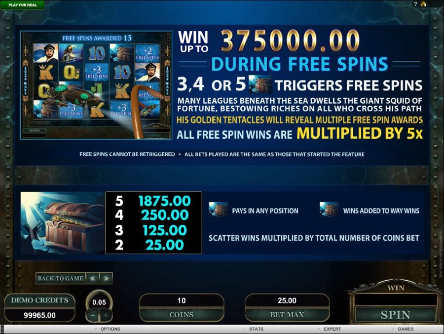Leagues of Fortune Free Spins Feature