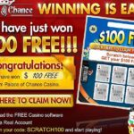 Palace of Chance Scratch Code SCRATCH100