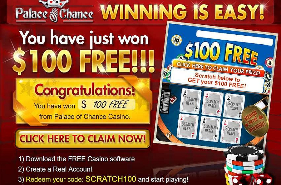 Palace Of Chance Mobile Casino