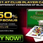 Club Player Blackjack Deposit Code 450CLUB