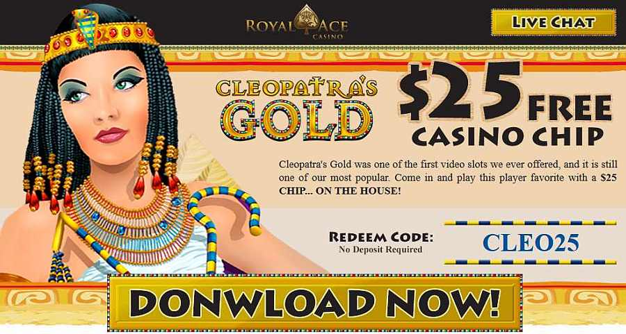 Royal Ace No Deposit Code CLEO25