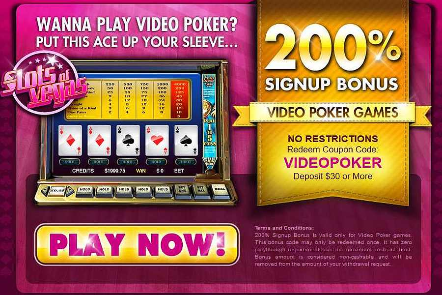 · Slots of Vegas Casino is powered by RTG and they are licensed by the government of Costa Rica.The casino offers a full suite of casino games.They offer regular no deposit and match deposit bonuses to new and active players from certain countries.This casino accepts players from the .