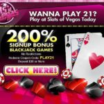 Slots of Vegas Blackjack Bonus PLAY21