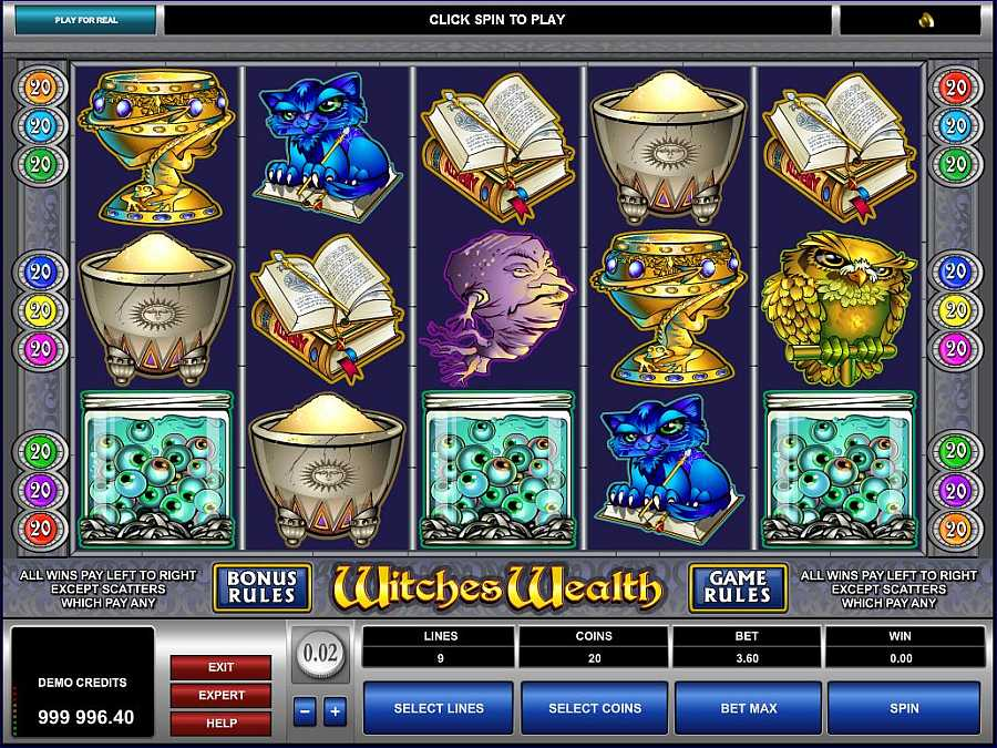 Witches Wealth Slot Machine Online ᐈ Microgaming™ Casino Slots