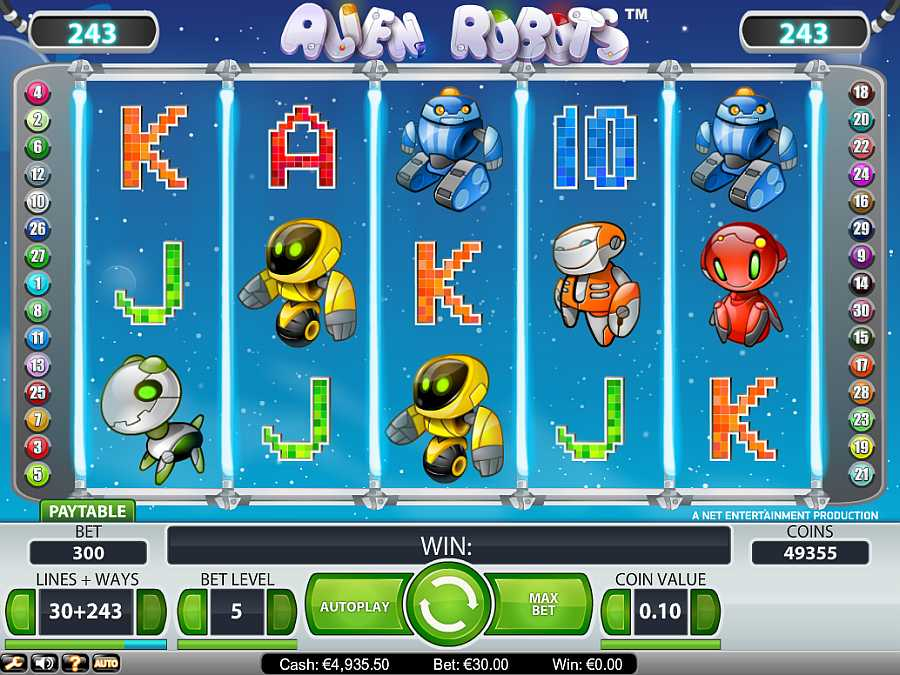 Alien Robots Slots - Play NetEnts Alien Robots Slots for Free.