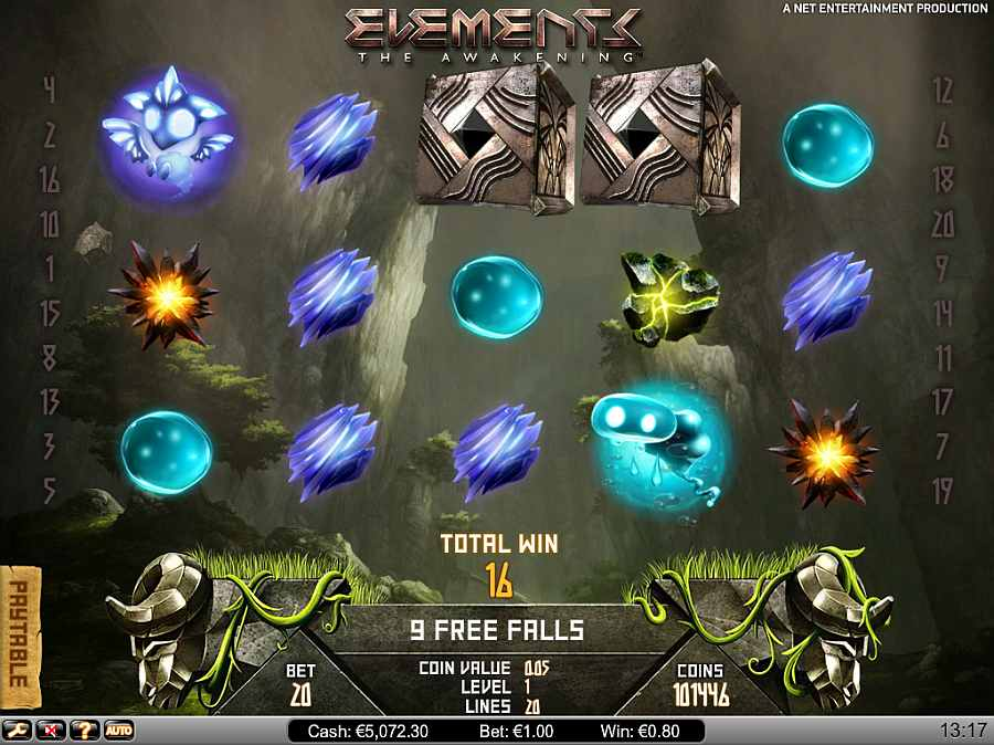 Elements Free Spins