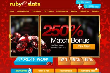 Big Bonuses at Ruby Slots US Friendly Casino