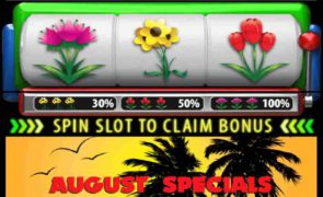 Slot land bonus Slot deals For August