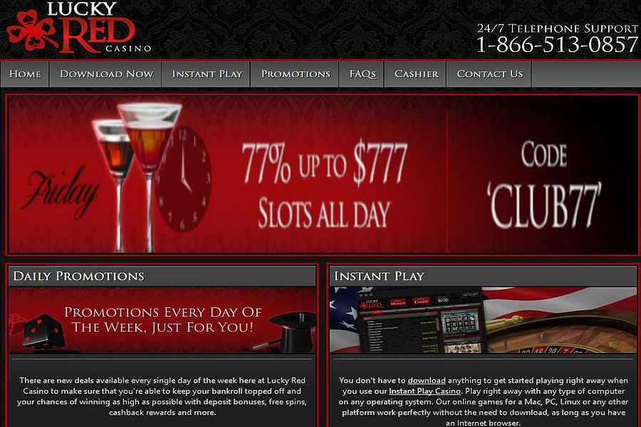 Lucky Red Casino No Deposit 2021