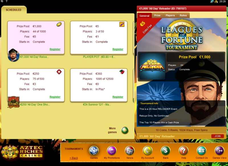Microgaming Slot Tournaments