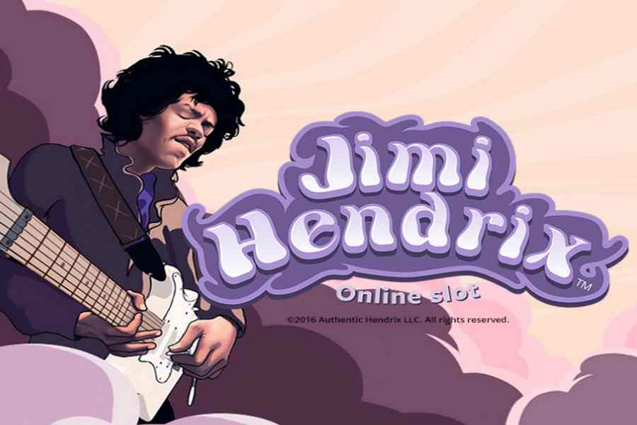 Jimi Hendrix legendary New Slots Game From Netent