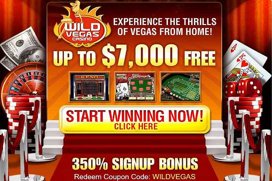 Wild Vegas Casino Sign Up