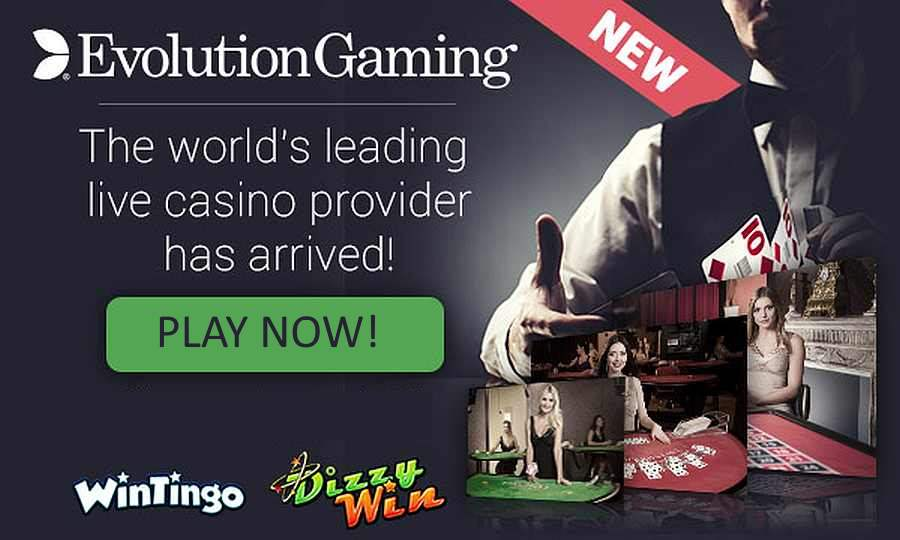 Live Dealer Games are here By Evolution Gaming