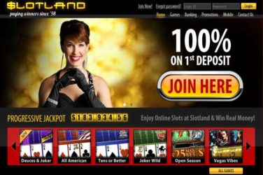 Slotland Welcome Bonus Code