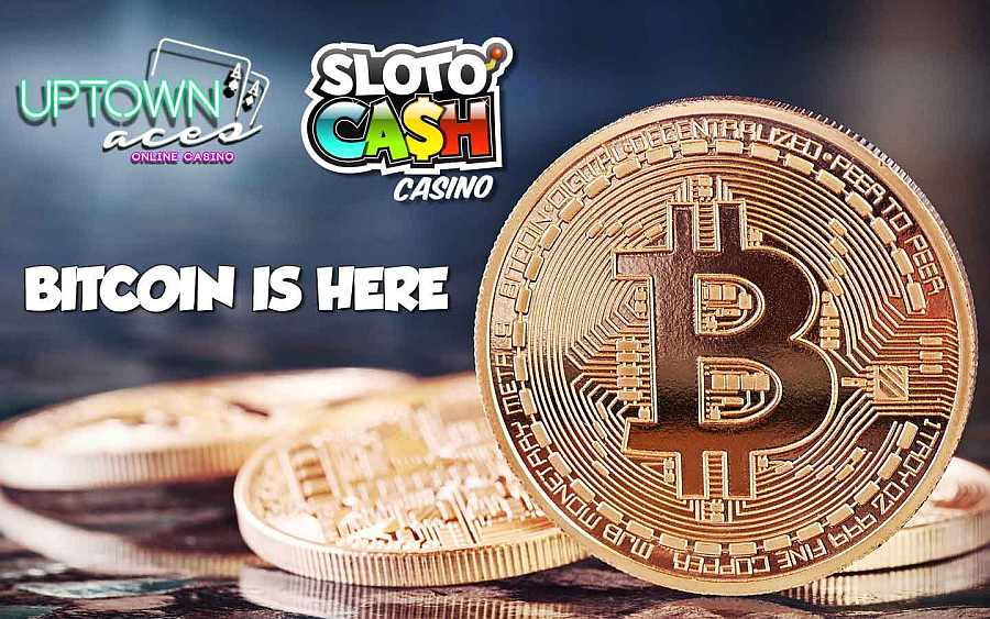 Bitcoin at Slotocash and Uptown Aces