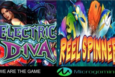 Microgaming Releases Electric Diva & Reel Spinner Slots