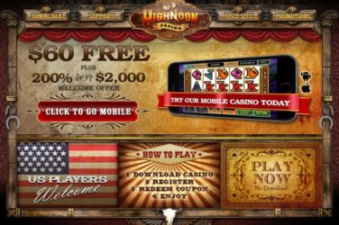 High Noon Mobile Devices Bonu Codes