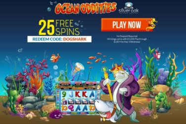 Silver Oak Ocean Oddities Bonus Code