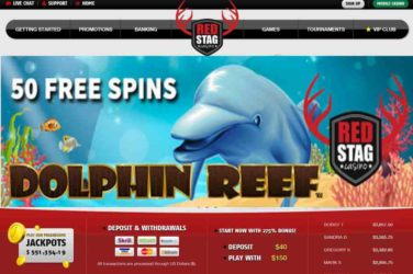 Red Stag Dolphin Reef Bonus Code