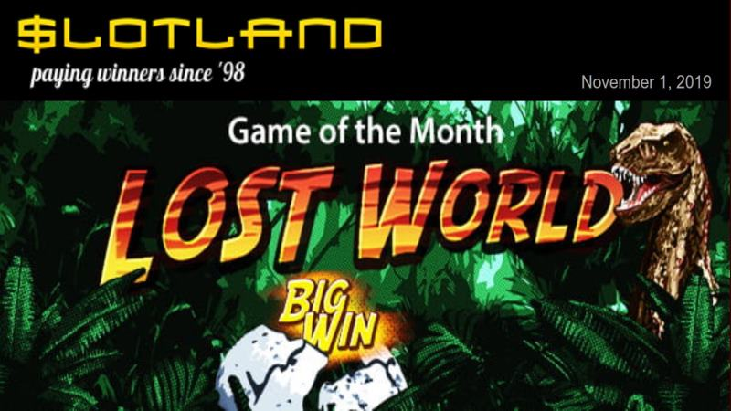 Slotland Lost World Bonus Code