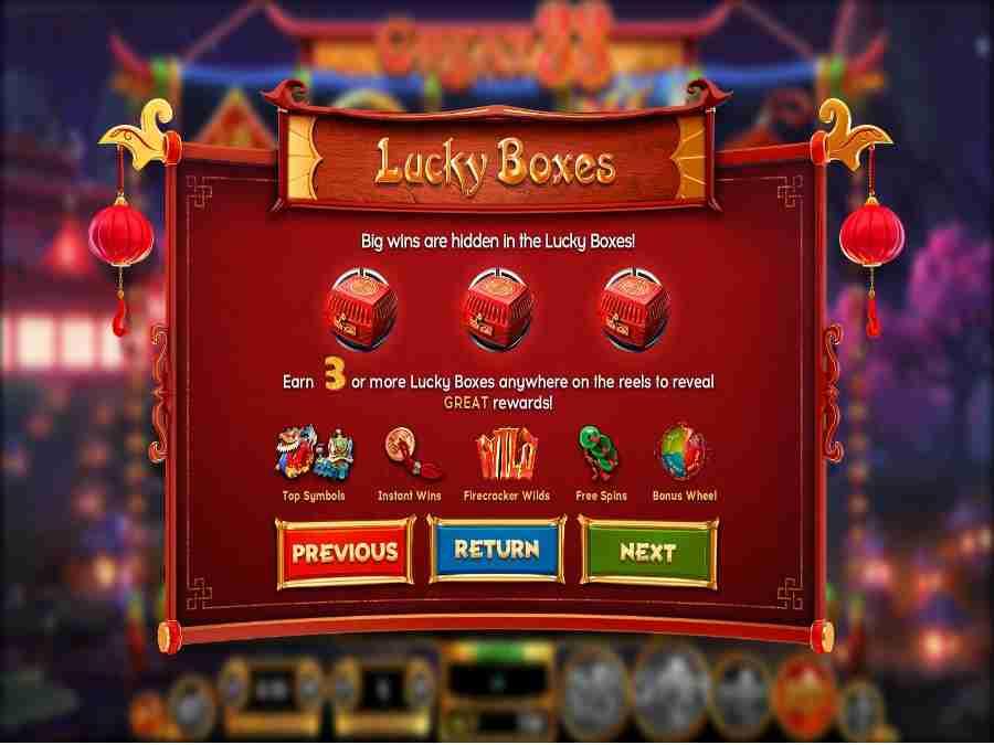 Lucky Boxes Feature