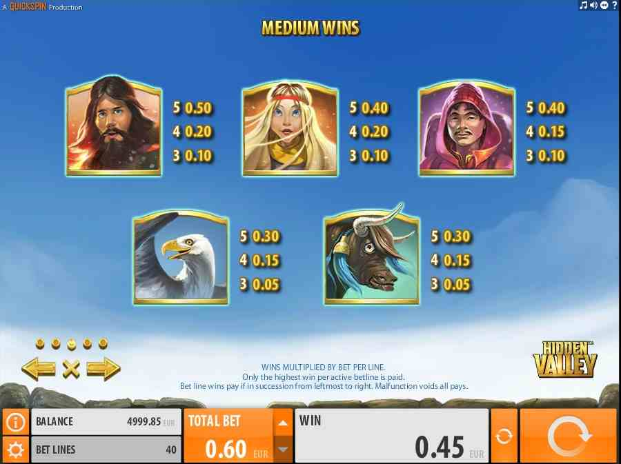 Hidden Valley Slots - Play Quickspin Slot Machines for Free