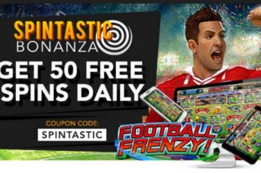 Slotastic Football Frenzy Spins