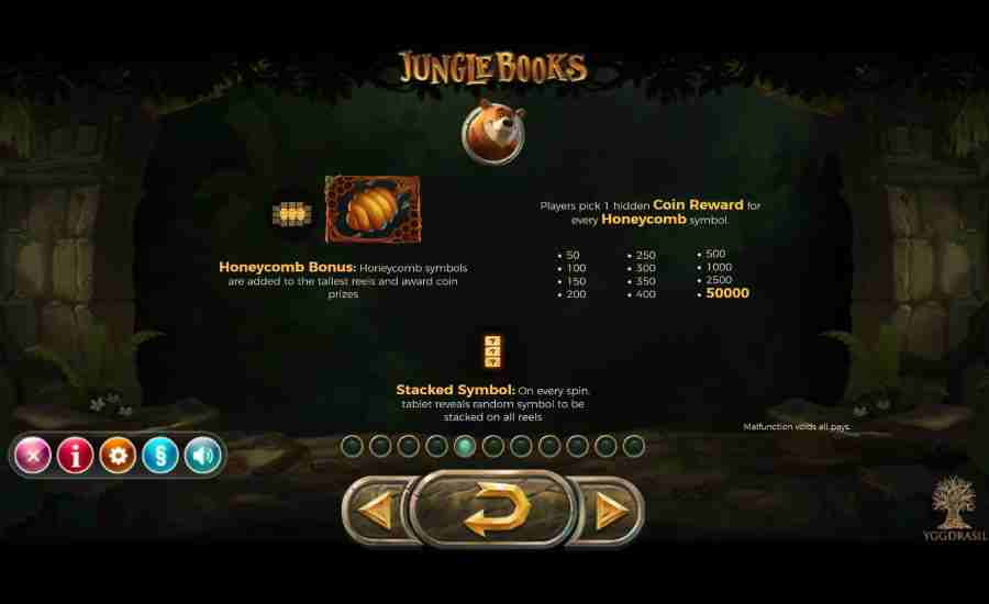 Jungle Books Honeycomb Bonus