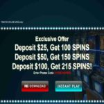 Slotocash Casino Exclusive 215 Free Spins