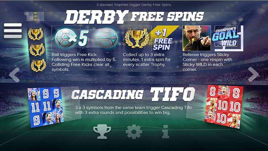 Derby Free Spins Feature