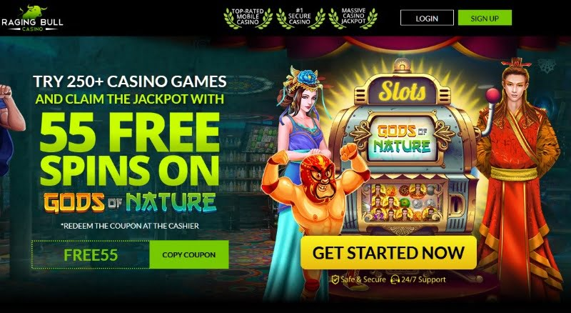Raging Bull Gods Of Nature Free Spins
