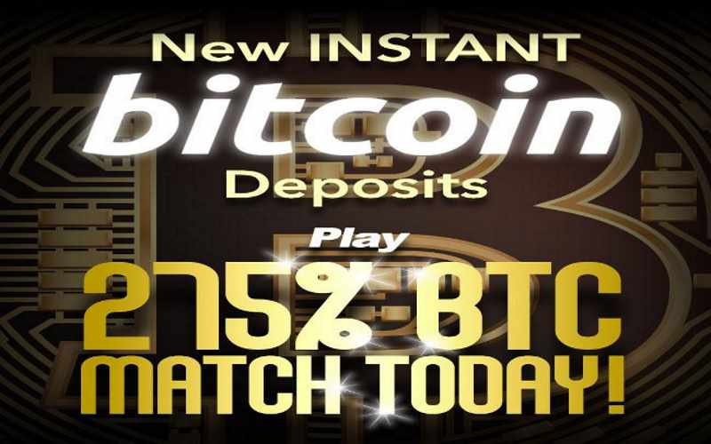 INSTANT Bitcoin (BTC) Deposits Now Available