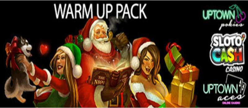 Xmas Warm Up bonuses & Spins