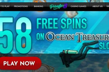 Paradise 8 Casino 58 Free Spins