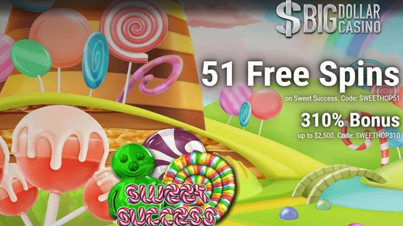 Big Dollar Sweet Success Bonus Codes