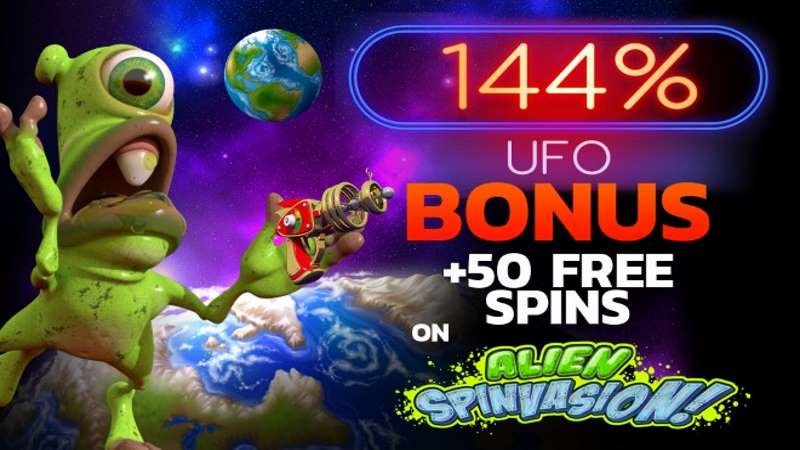 Mid Year Alien Spinvasion Free Spins Bonuses