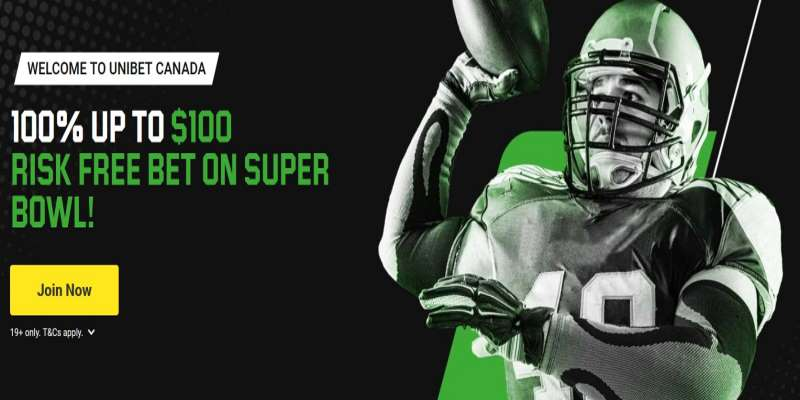 Unibet Canada Super Bowl LV Welcome Offer