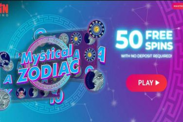 spin casino 50 free spins Mystical Zodiac